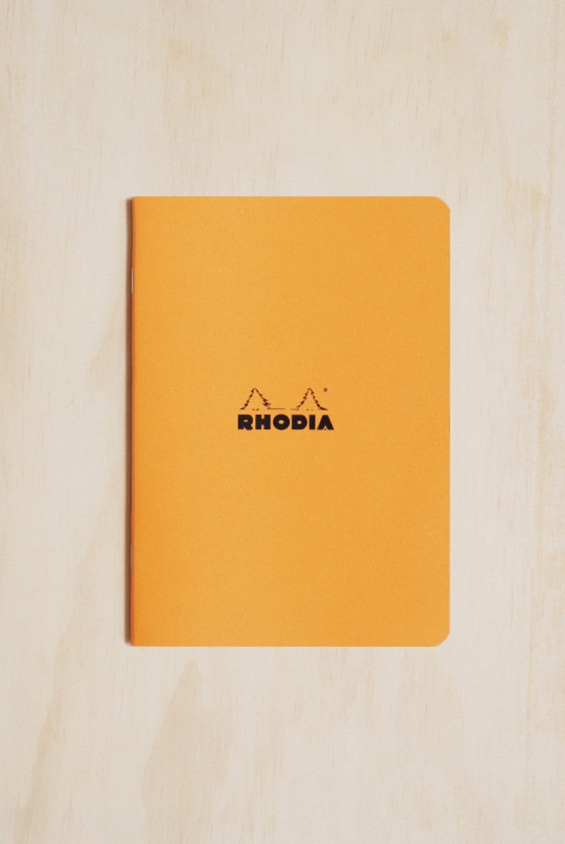 RHODIA CAHIER SIDE STAPLED A5 148x210mm 5x5