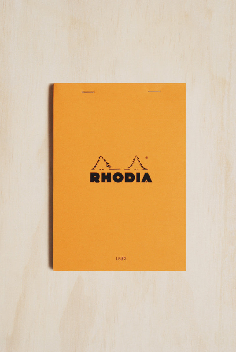 RHODIA PAD 16 STAPLED PAD A5 148x210mm RULED A5