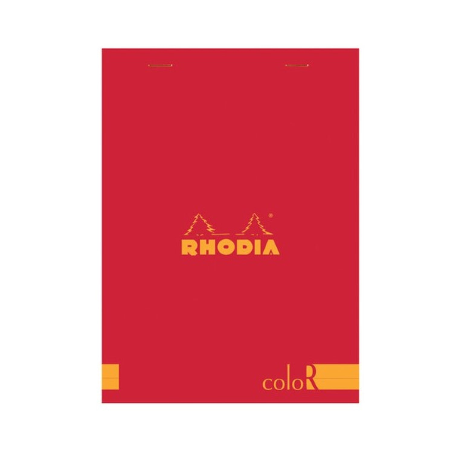 RHODIA PAD 16 R PREMIUM Poppy Red Cover RULED
