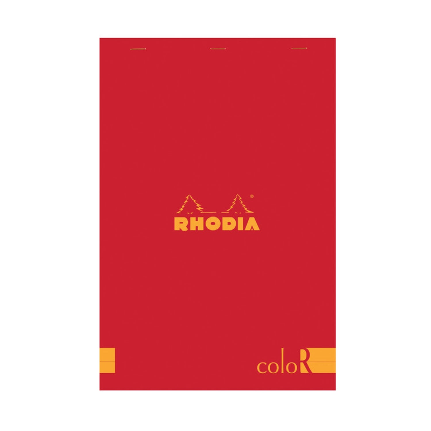RHODIA Pad 18 R PREMIUM PAD Poppy Red Cover LINED