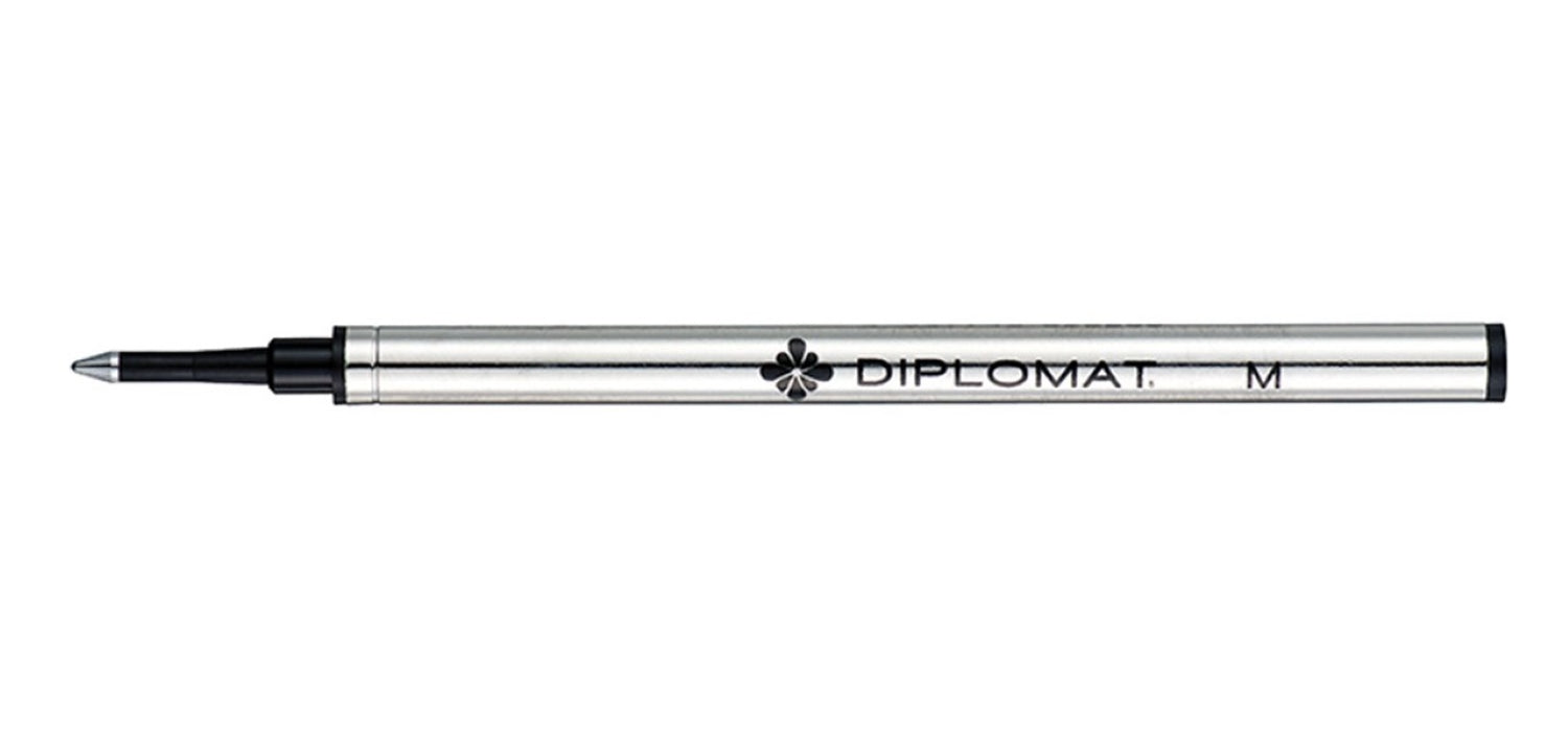 Diplomat Rollerball Refill RB 0.7mm Medium Metal