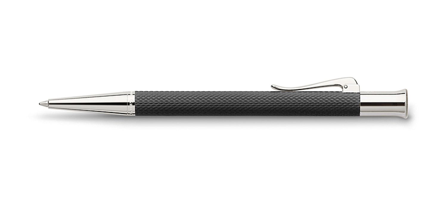 Graf Von Faber Guilloche Black BP Ball Pen Pen GVFC