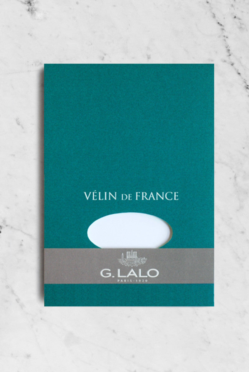 G. LALO G. Lalo Velin De France A5 pad 50 sheets White