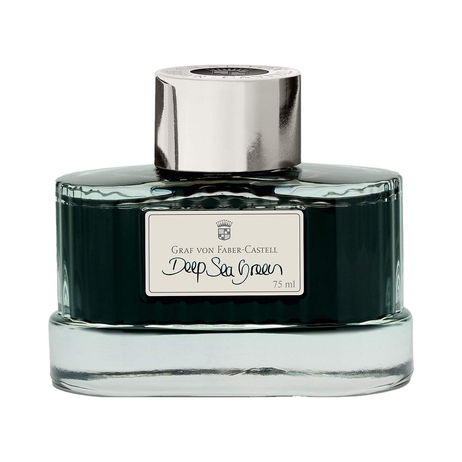 Graf Von Faber Castell Ink Bottle 75ml Deep Sea Green Indelible