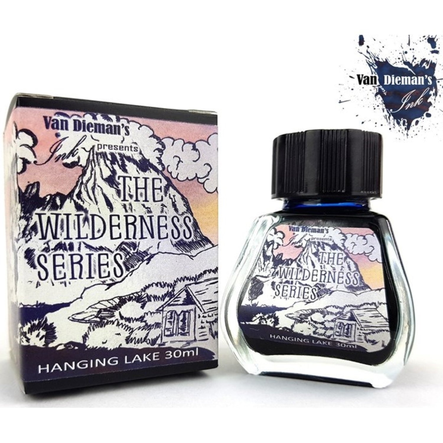 Van Diemans The Wilderness Series Hanging Lake Ink 30ml