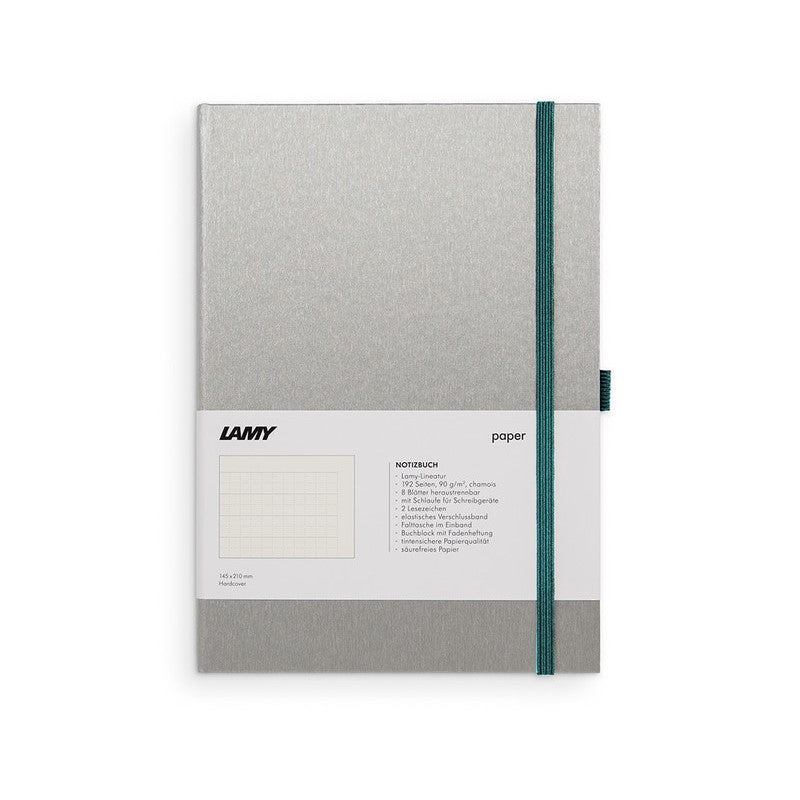 LAMY HARD COVER NOTEBOOK RULED A5 TURMALINE