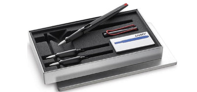 LAMY JOY Calligraphy Pen Set Shiny Black with Red Clip