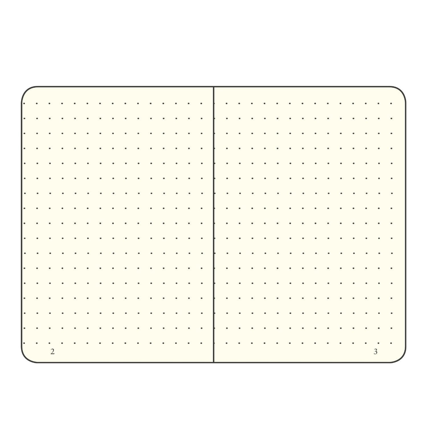 Leuchtturm Notebook Hardcover A6 (90 X 150mm) Dots / Dotted
