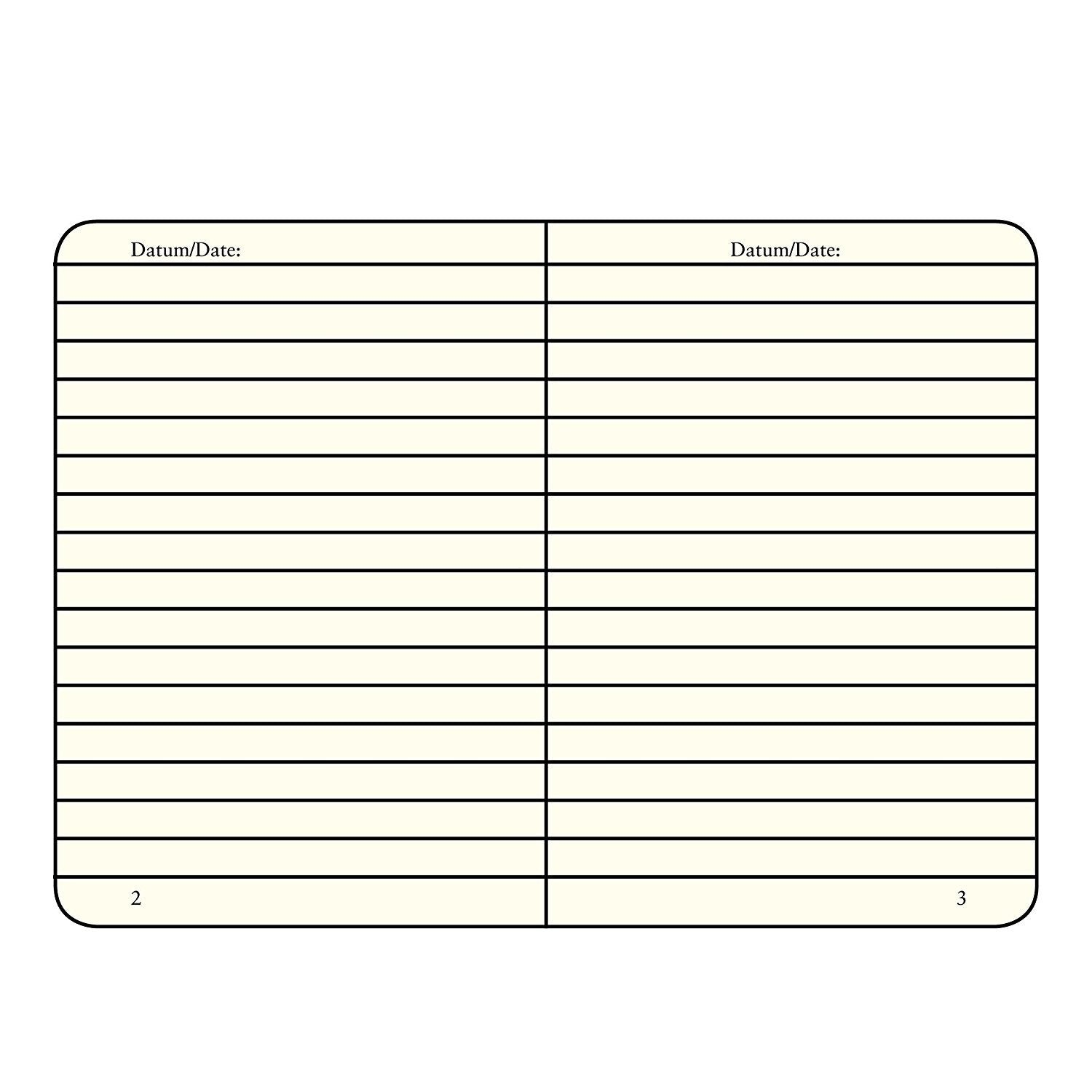 Leuchtturm Jottbook A6 (90 X 150mm) Lined / Ruled