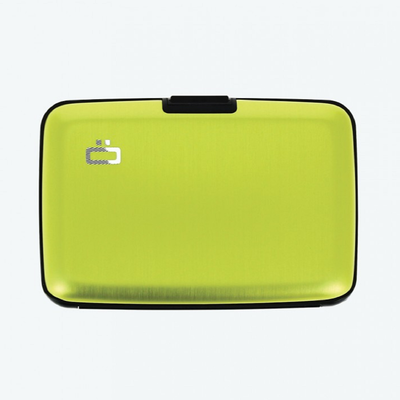 OGON AL5A Stockholm Card Case Green-Lime