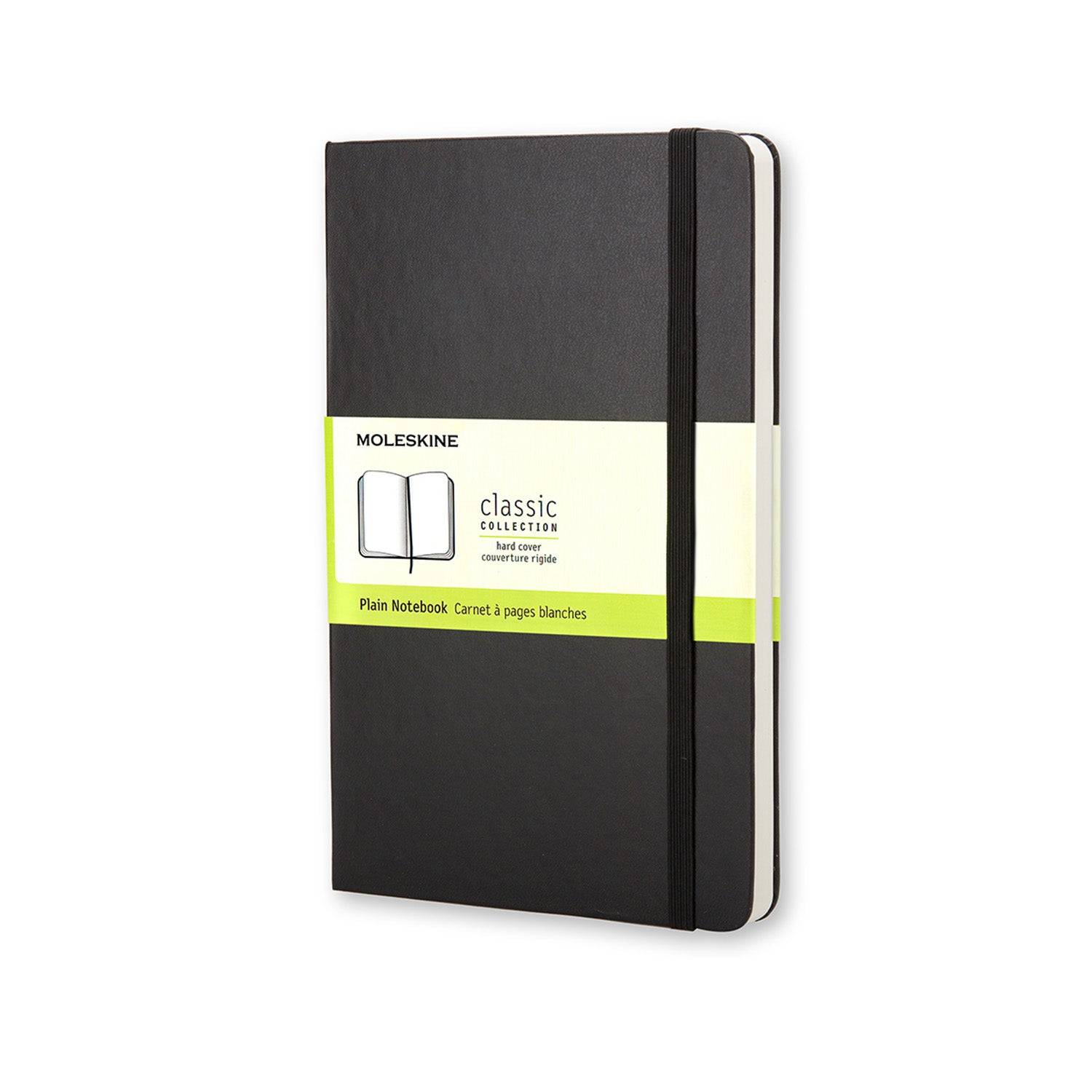 Moleskine Classic Hard Cover Notebook Large PLAIN Black