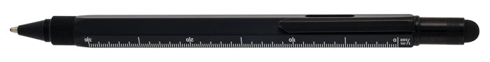 Monteverde TOOL PEN BP STYLUS Multi ruler level Black