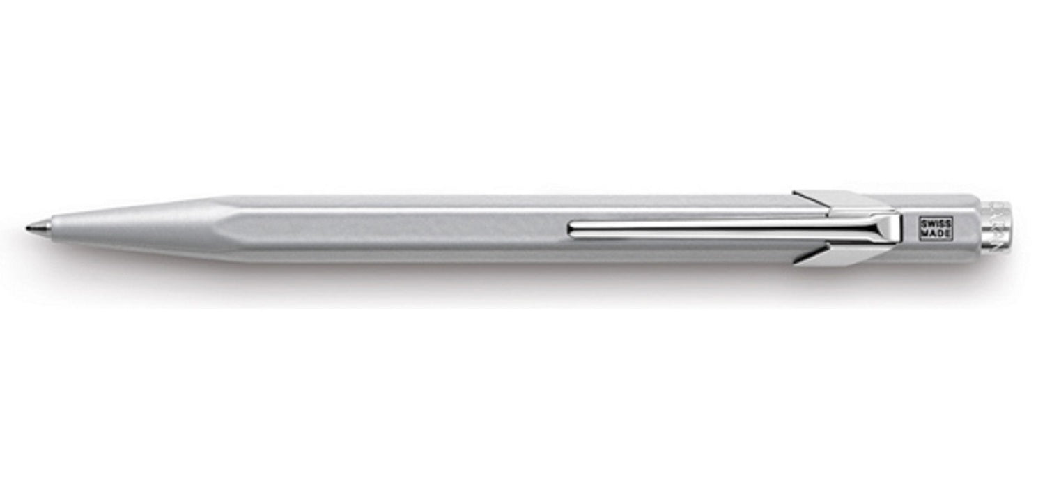 Caran dAche 849 Office Ball Pen BP Metal Grey
