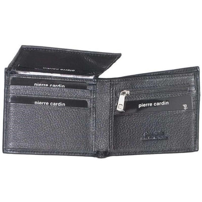 Pierre Cardin PC1162 BLACK MENS WALLET - RFID Italian Leather