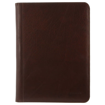Pierre Cardin PC3062 Chocolate A4 Leather Business Compendium