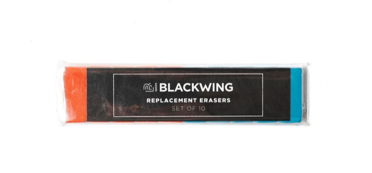 Blackwing - Pencil Replacement Erasers - Pack of 10 - Volume 6