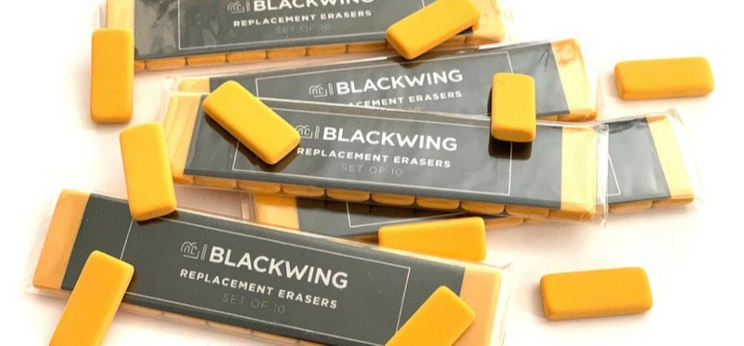 Blackwing - Pencil Replacement Erasers - Pack of 10 - Volume 3