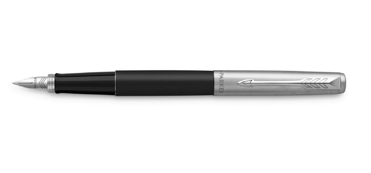 Parker Jotter Bond Street Black Chrome Trim FP