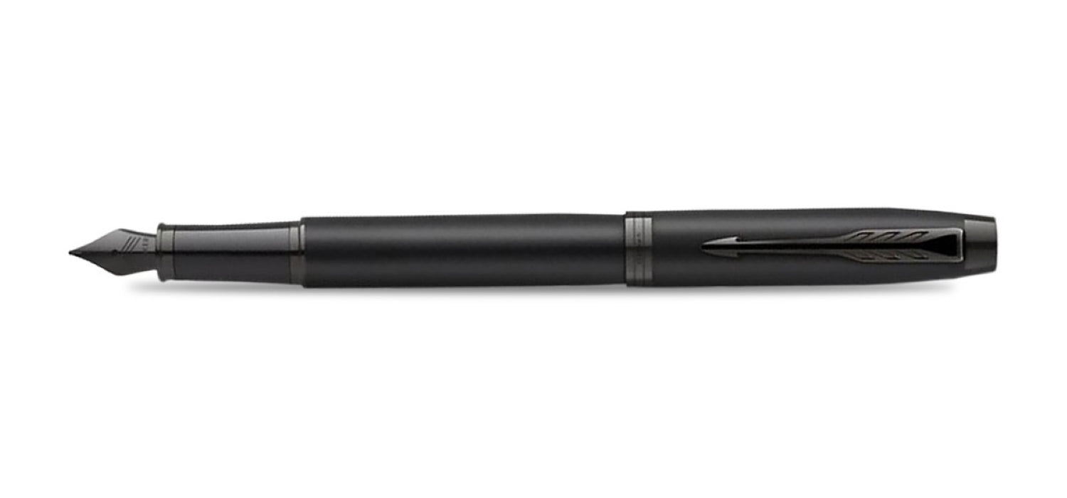 Parker IM Achromatic Black Fountain Pen FP