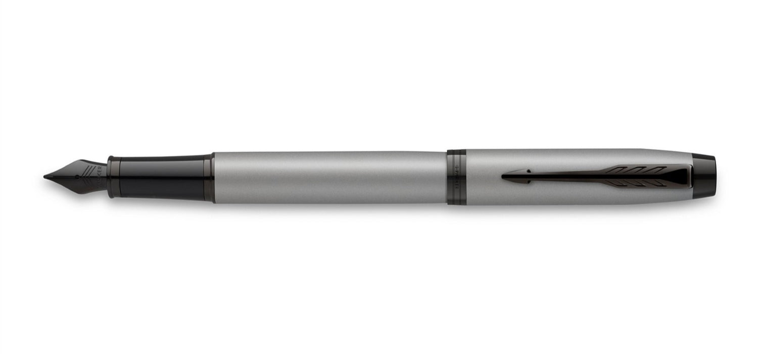 Parker IM Achromatic Grey Fountain Pen FP