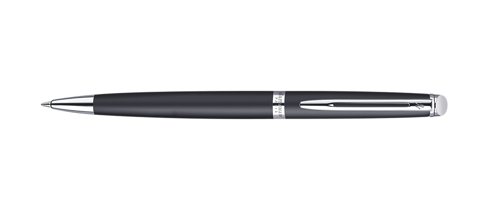 Waterman Hemisphere Matte Black Chrome Trim BP