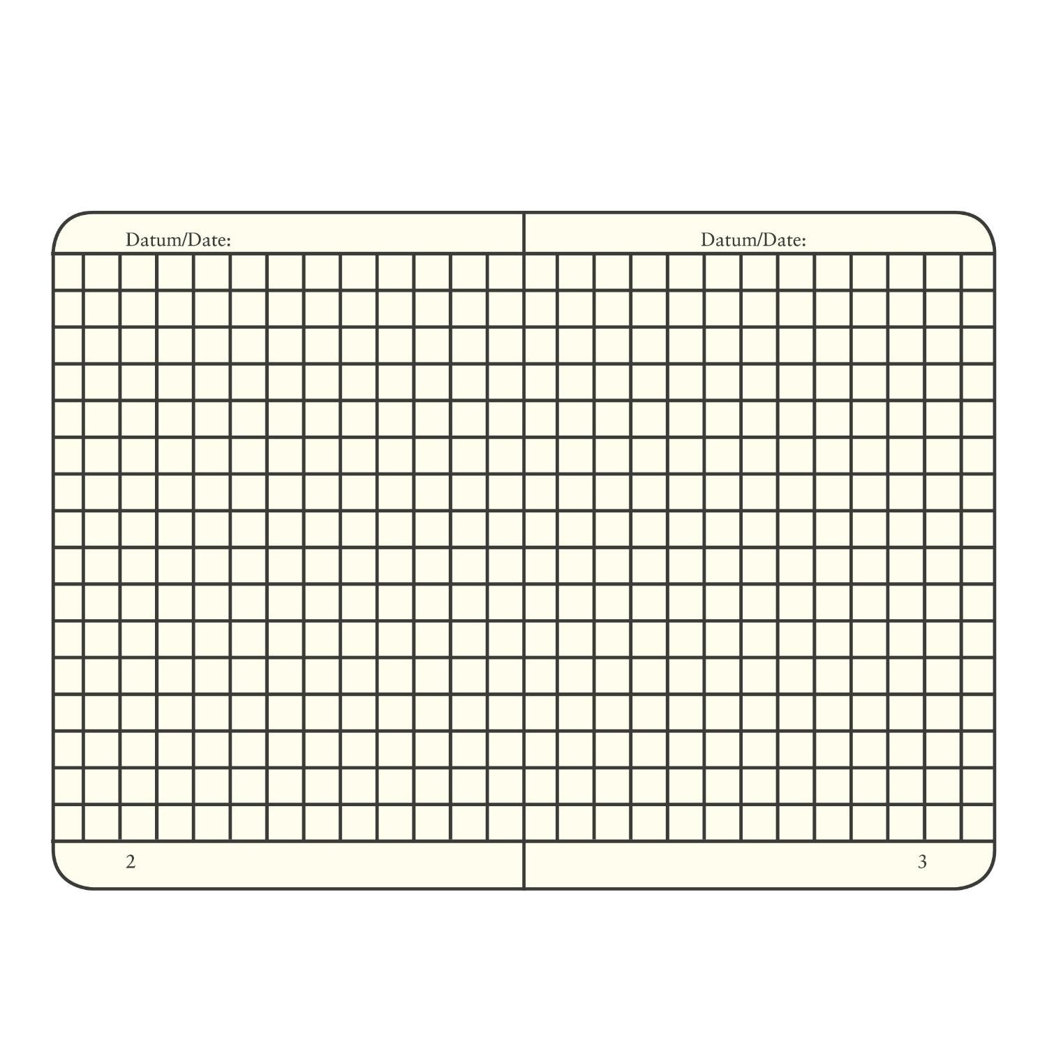 Leuchtturm Notebook Hardcover A5 (145 X 210mm) Squared / Gridded