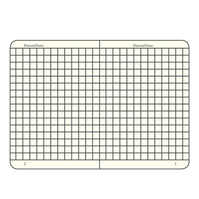 Leuchtturm Notebook Hardcover 145 X 210mm Squared / Gridded