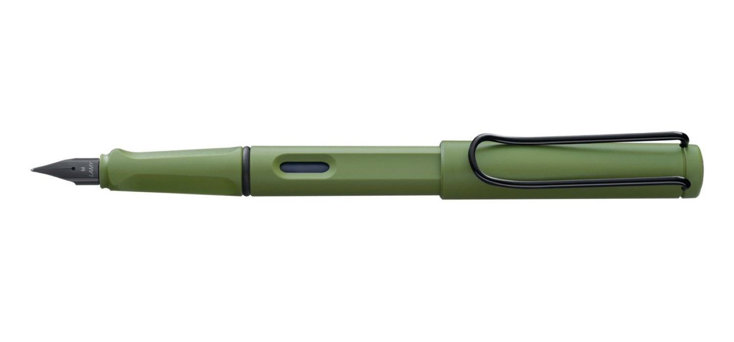 LAMY SAFARI Fountain Pen Origin Savannah Green - Special Edition