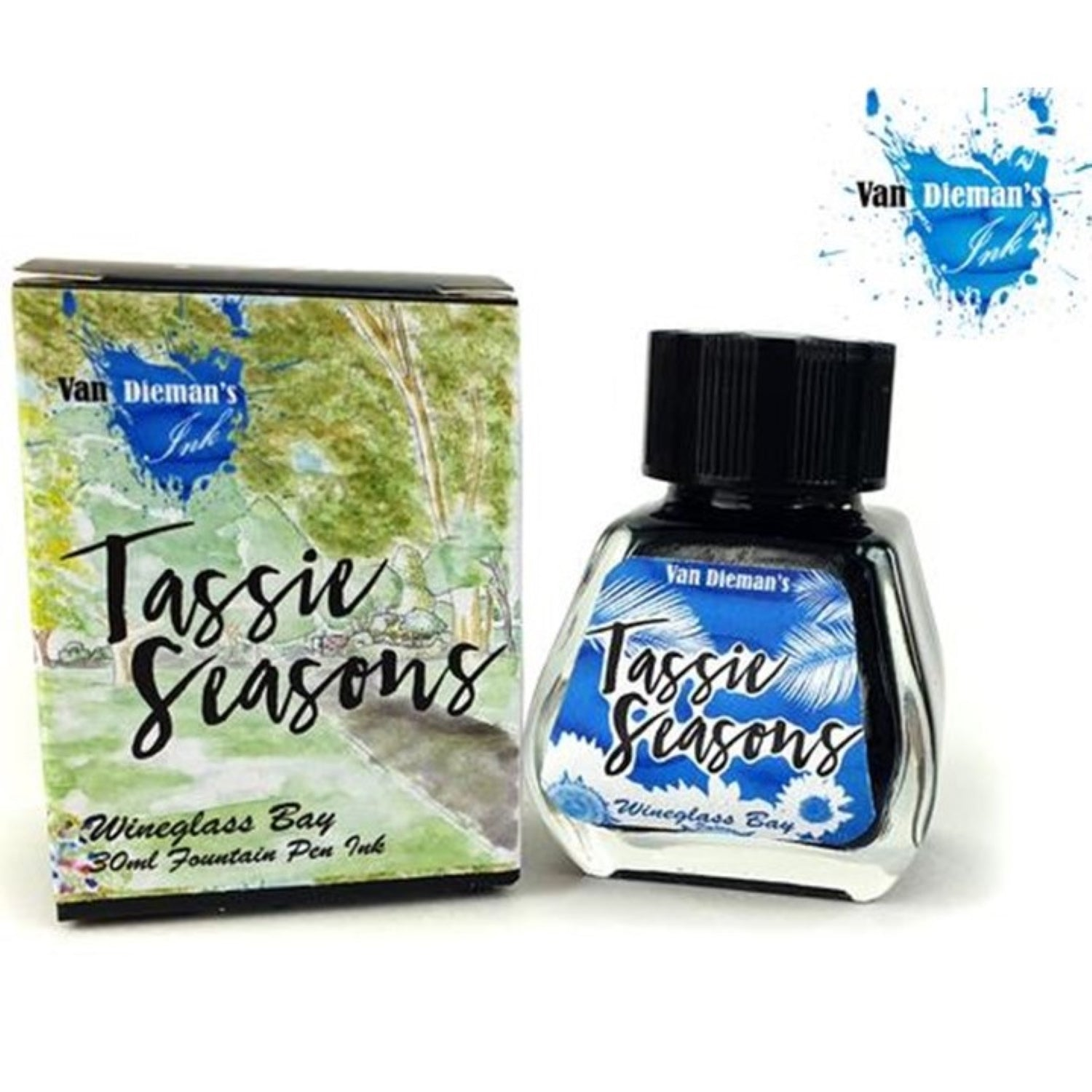 Van Diemans Tassie Seasons (Summer) Wineglass Bay Ink 30ml