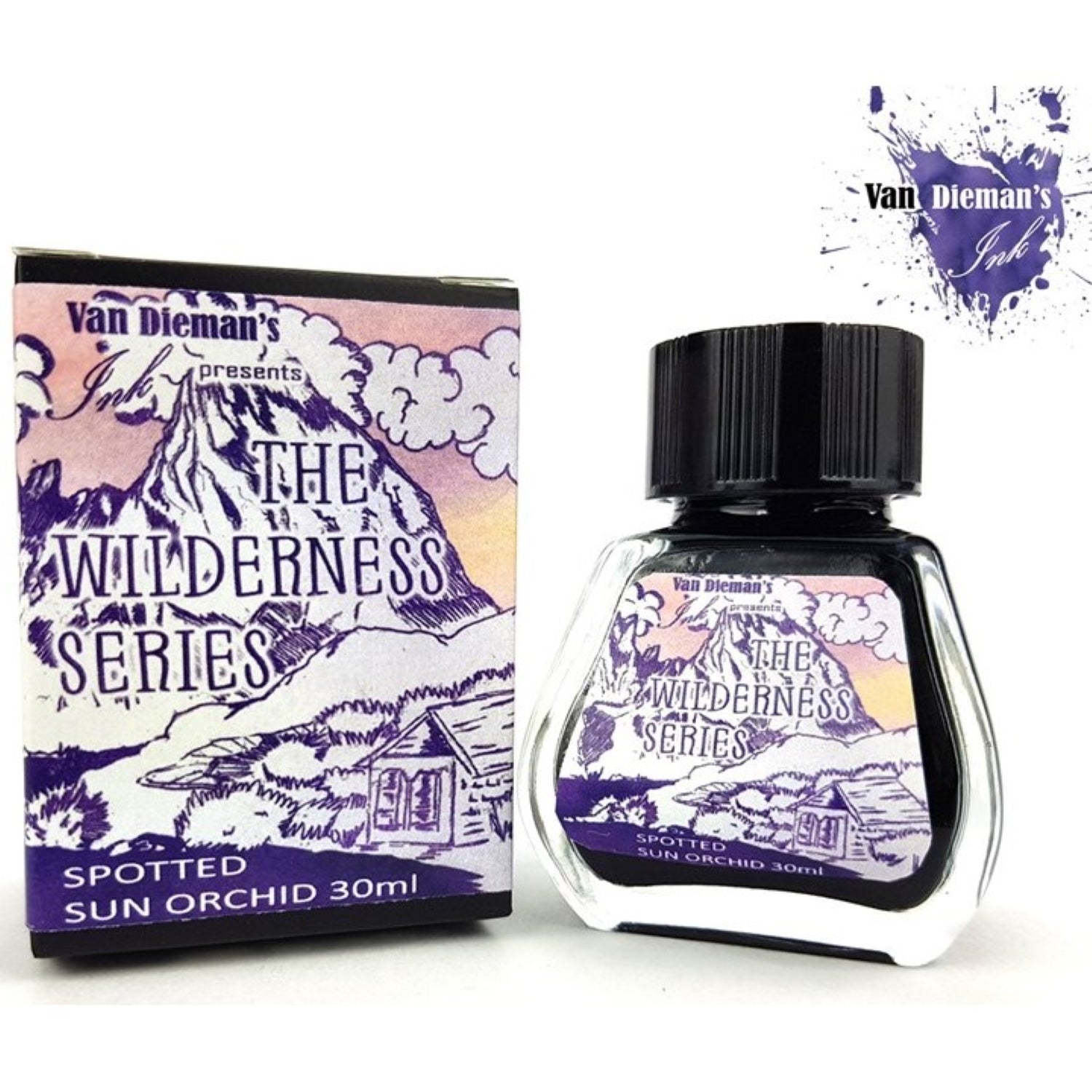 Van Diemans The Wilderness Series Spotted Sun Orchid Ink 30ml