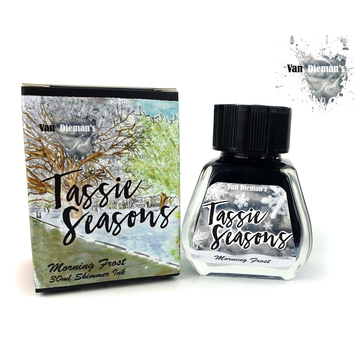 Van Diemans Tassie Seasons (Winter) Morning Frost Shimmer Ink 30ml