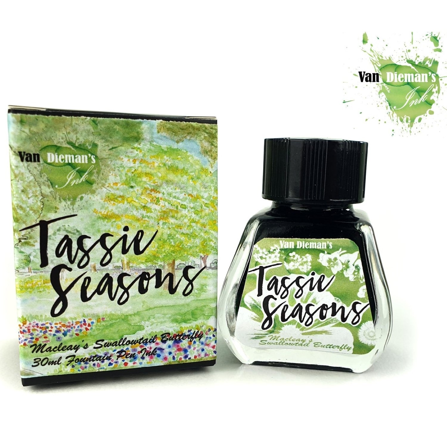Van Diemans Tassie Seasons (Spring) Macleays Swallowtail Butterfly Ink 30ml