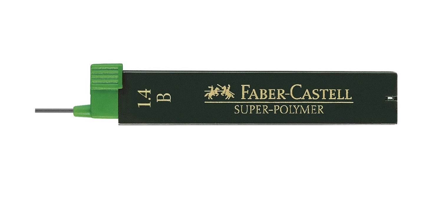 Faber Castell Design Leads 1.4mm B 6 Leads per tube