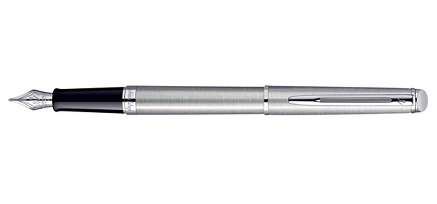 Waterman Hemisphere Stainless Steel Chrome Trim FP