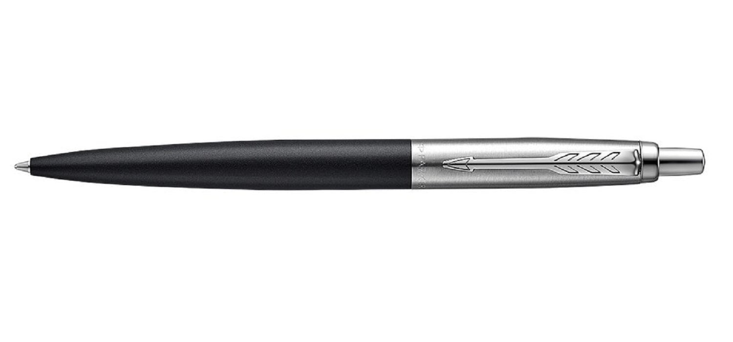 Parker Jotter Bond Street Black Chrome Trim BP