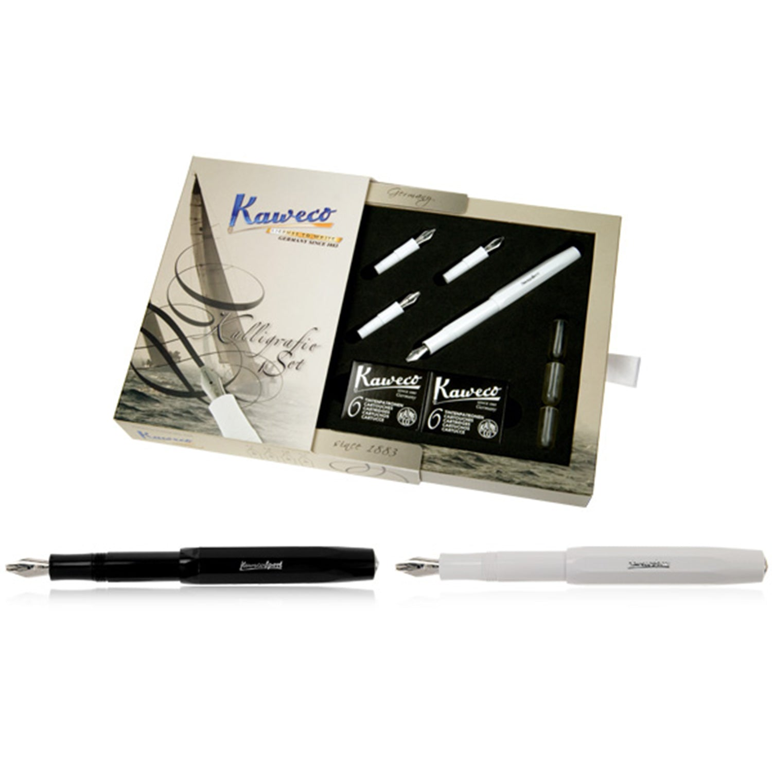Kaweco Calligraphy Pen Writing Set - Black