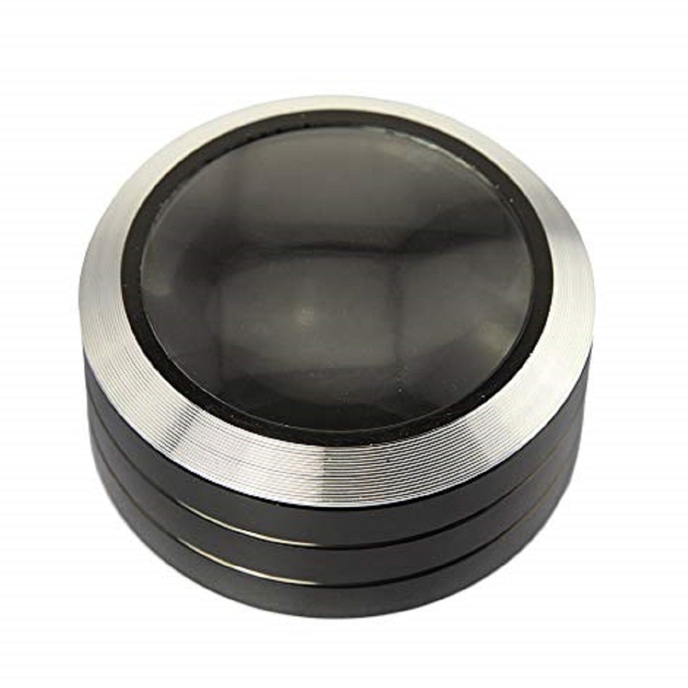 ARNOTTS 5X Magnification 3 LED Paperweight - 9cm diameter 5cm height