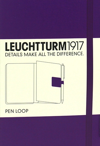 Leuchtturm PEN LOOP - Stick On Pen Holder for Notebooks