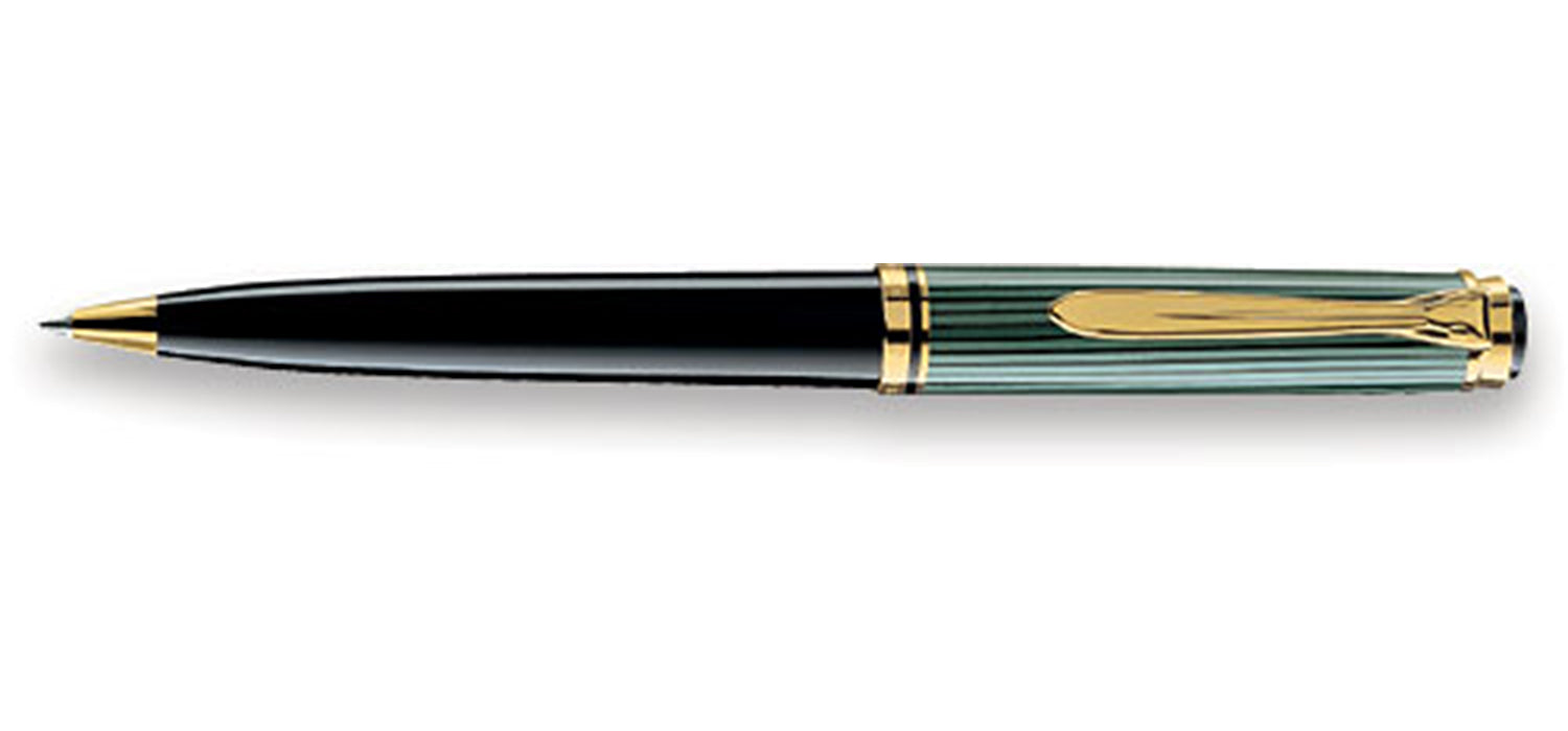 Pelikan K 600 Souveran black/green BP pen with gold BP