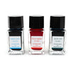 Pilot INK-15-3C-C-EX 3 X 15ml bottle gift set Sky Blue/ Winter Persimmon/ Dew on Pine Tree