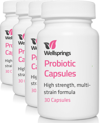 Wellsprings Probiotic Capsules (4 Pack)