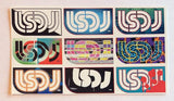 LSDJ Sticker Sheet With 9 Iconic Logos