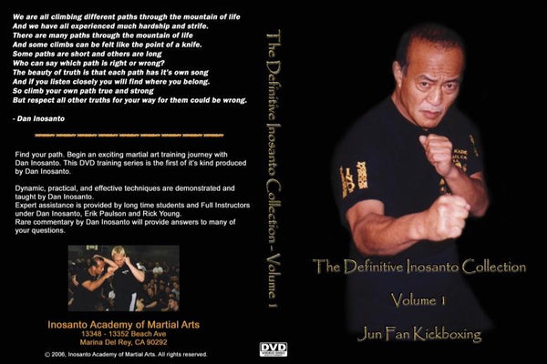 Inosanto - Definitive Collection - 9 DVD Set