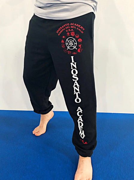 Inosanto Academy Sweatpants - Red and White