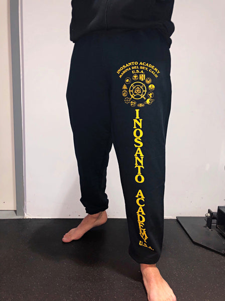 Inosanto Academy Sweatpants - Gold
