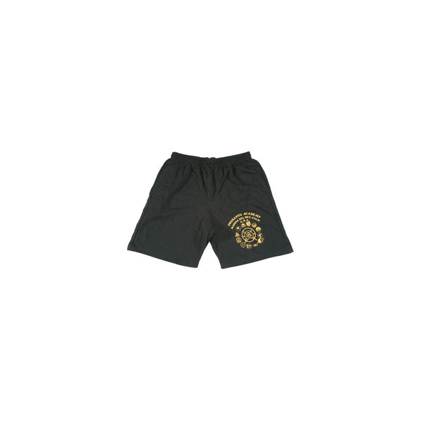 Inosanto Academy Shorts - Black with Gold Logo