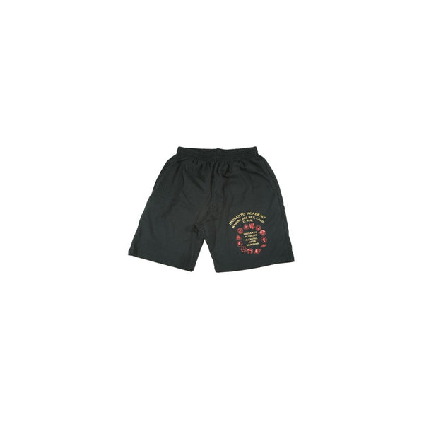 Inosanto Academy Shorts - Black with Red and Gold Logo