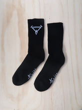 Load image into Gallery viewer, Tanjee crew socks Black