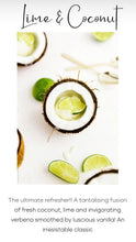 Load image into Gallery viewer, Lime & Coconut Candle