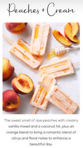 Car Diffuser Peaches & Cream